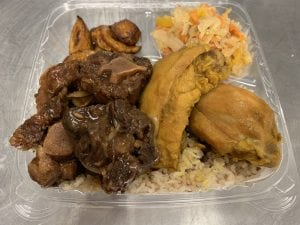 Jamaican Chicken and Oxtail