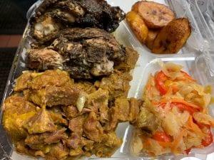 Jerk Chicken Curry Goat