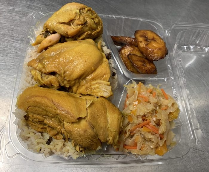curry chicken by taste of trelawny