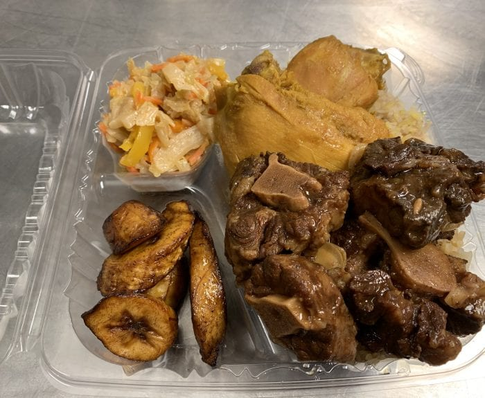 Chicken and Oxtail