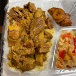 curry goat caribbean food